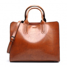 Big Leather Casual Handbags