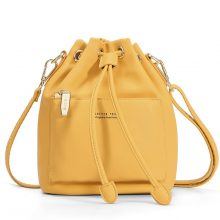 Women's Crossbody Strap Bag made from Synthetic Leather