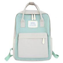 Waterproof Canvas Travel Backpack