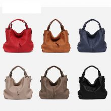 Women's High Quality Leather Handbags with Pocket