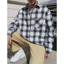 Harajuku Long Sleeve Plaid Shirts