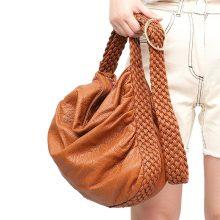 Big Soft Casual PU Leather Shoulder Bag