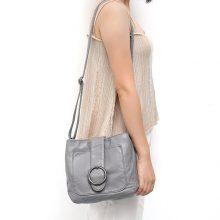 Women's Flap Hand Bags Wash Pu Leather Cross body Bag