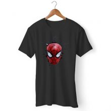 Marvels Spiderman Face Man's T-Shirt