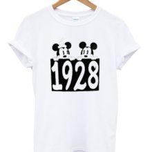 Mickey minnie 1928 t-shirt