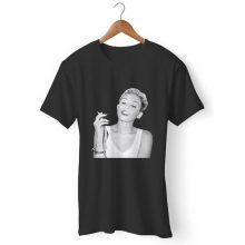 Miley Cyrus Smoke Man's T-Shirt