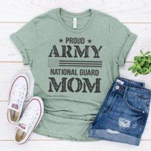 National Guard Mom tshirt