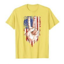 Peace symbol Flag T-Shirt