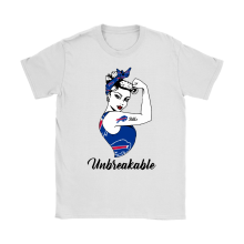 Strong Buffalo Bills Unbreakable Strong Woman NFL Shirts