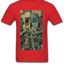 Vintage Octopus T shirt
